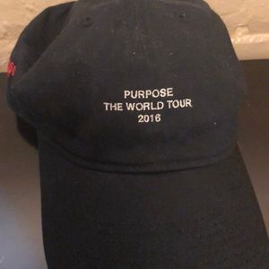 Justin Bieber 2016 Purpose World Tour Black Hat
